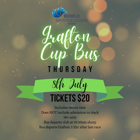 GRAFTON CUP BUS - 8th July