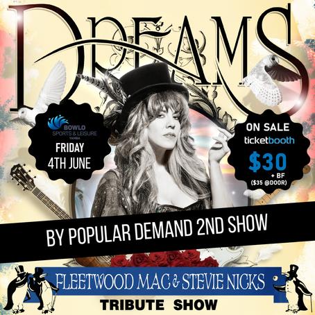 DREAMS FLEETWOOD MAC & STEVIE NICKS TRIBUTE SHOW (RETURN SHOW) - 4th June