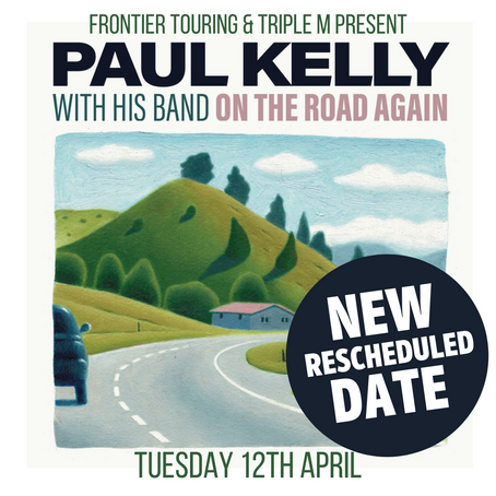 PAUL KELLY With His Band - On The Road Again Tour - 12th April