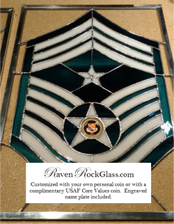 CMSgt Command Service Stripes