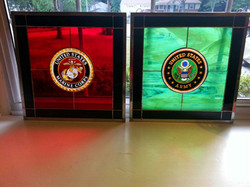US Army and USMC Panels