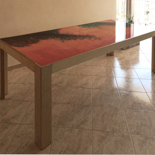 tavolo in formica personalizzata