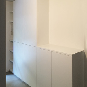armadio porta faldoni bilaminato bianco