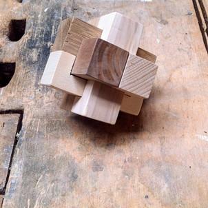 incastro in legno di Leonardo da Vinci