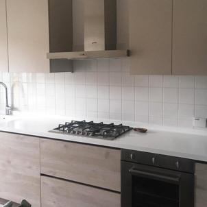 cucina e top in corian