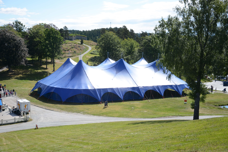 Det store blå - vårt største telt