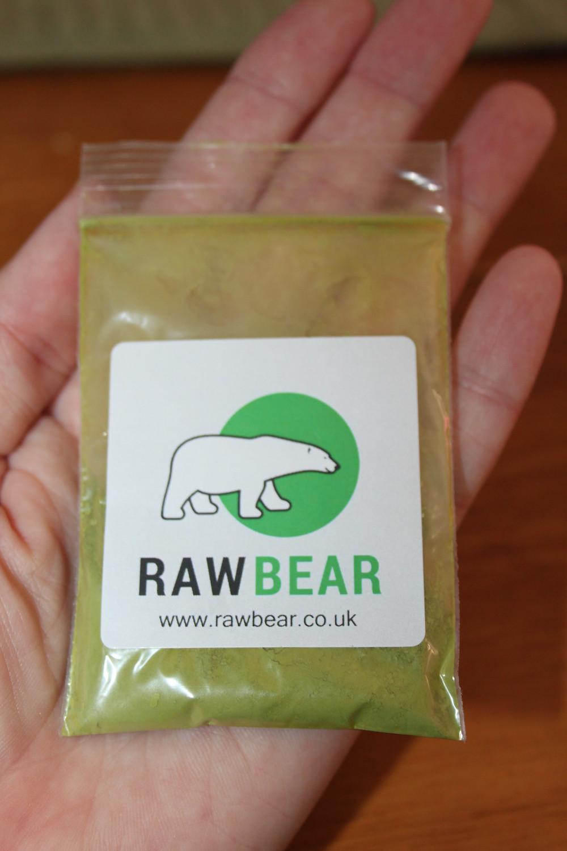 Canadian Mom Blog Raw Bear Matcha Tea