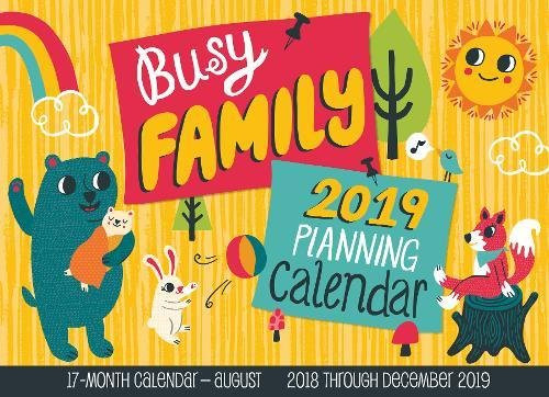 Busy Family Planning Calendar