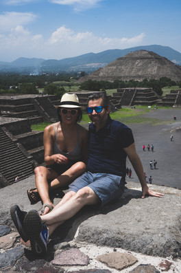 Who would have thought Teotihuacán was this romantic?