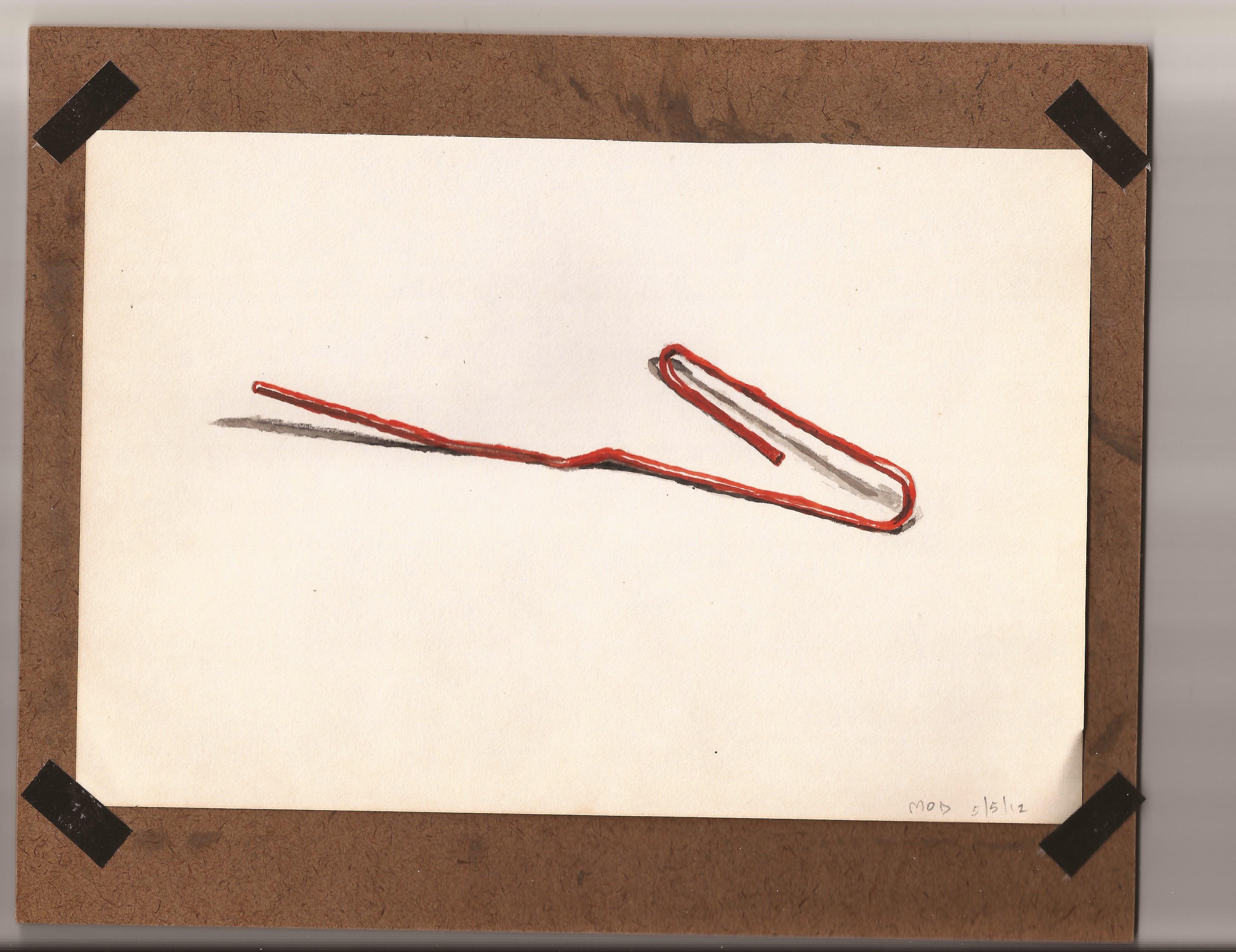 Paper Clip, 2012