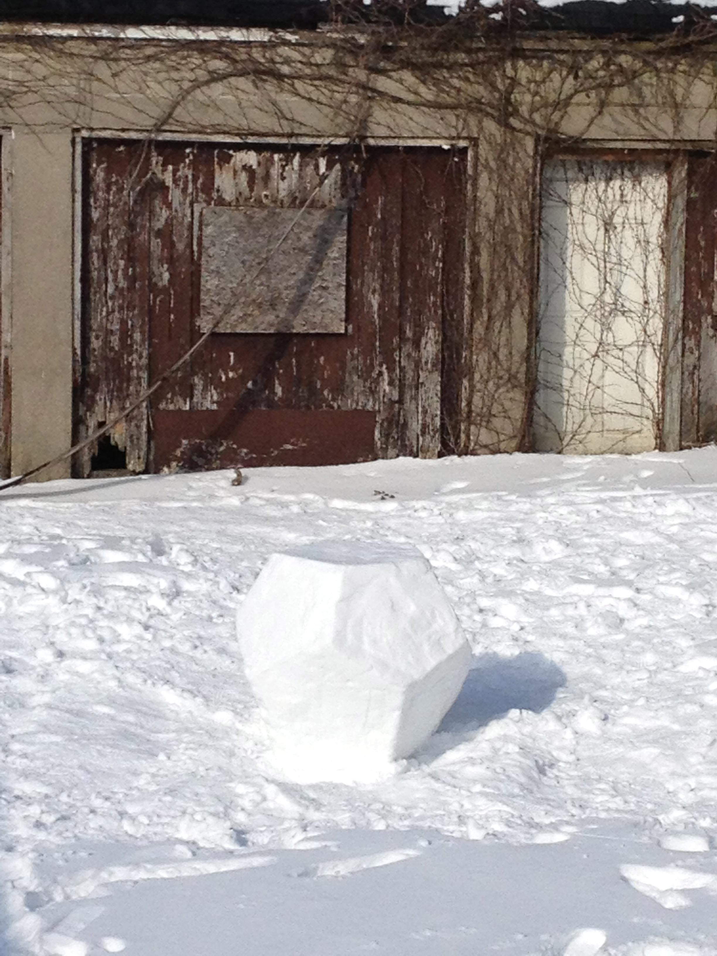 Snowdecahedron, 2013 B