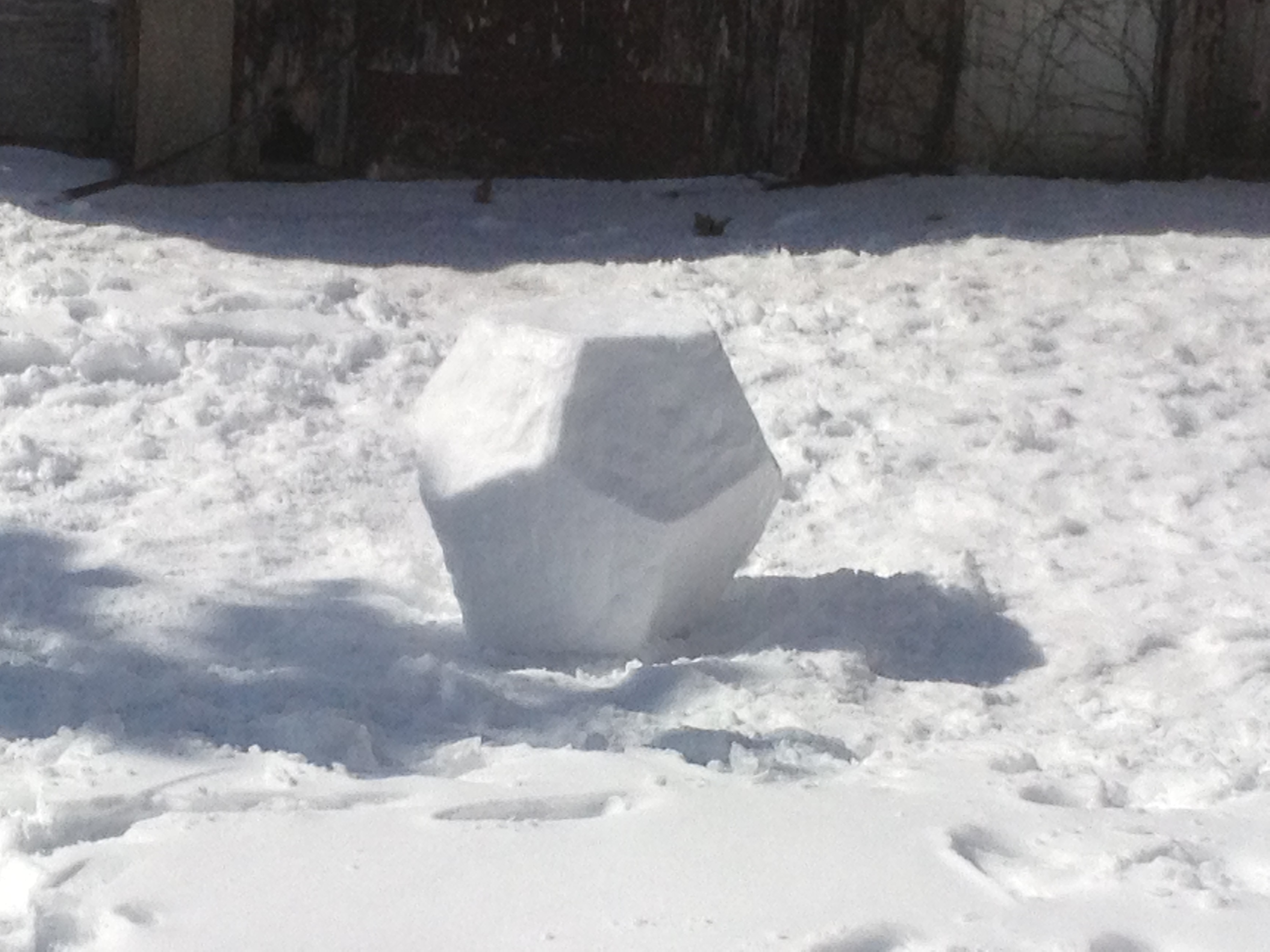 Snowdecahedron, 2013 A