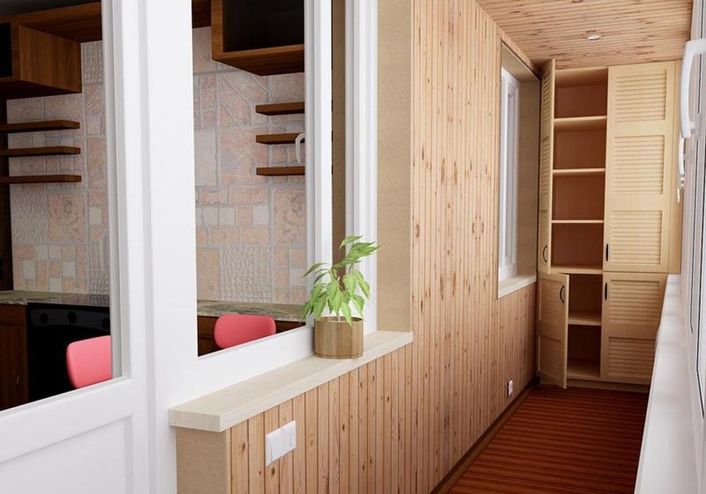 отделка балкона8