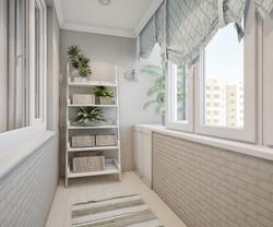 отделка балкона2
