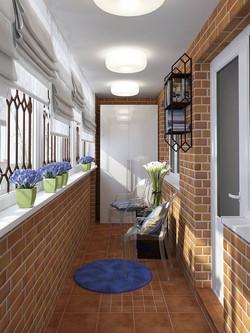 отделка балкона5