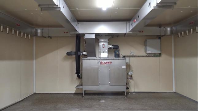 Chambre de séchage industrielle