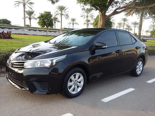 Toyota corlla 2016 Black