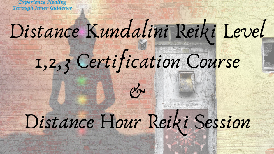 Combo of Kundalini Reiki Distance certification course & Distance Reiki Sesion