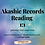 Thumbnail: Online -  An hour Akashic Records Reading
