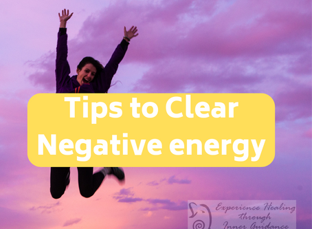Tips to clear Negative energy