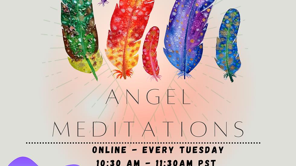 Angel Meditations Weekly - Online