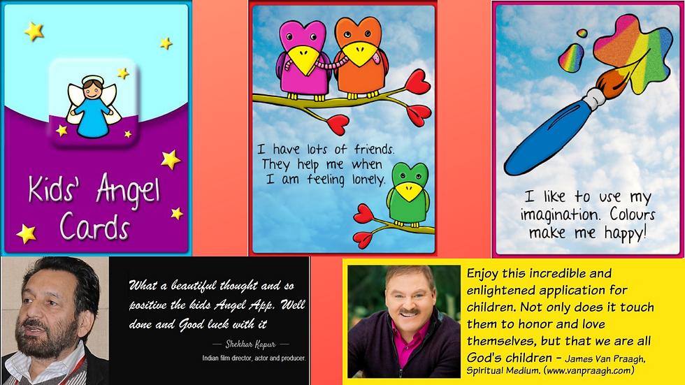 Kids Angel Cards