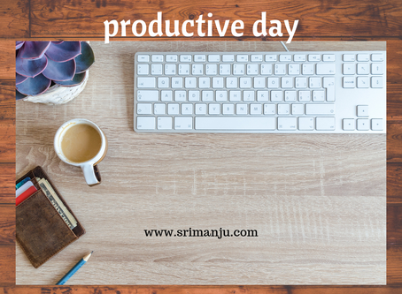 12 simple ways to make a productive day