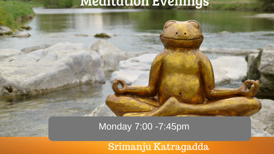 Monday Mindfulness Meditation for Adults - 10 weeks