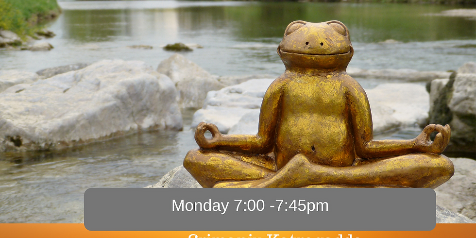 Monday Mindfulness Meditation for Adults 5 weeks Online
