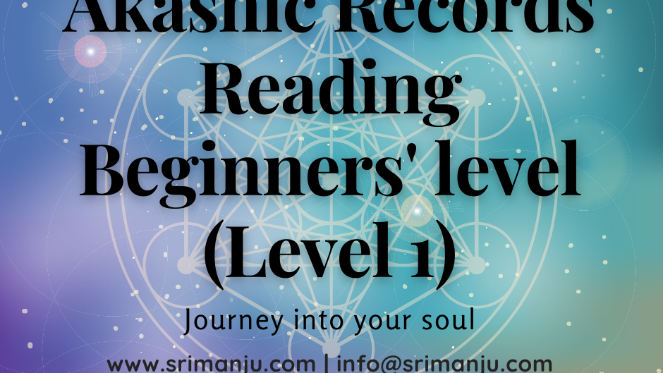 Online Live In Person - Akashic Records Level 1
