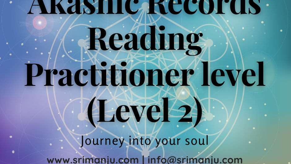 Online In Person - Akashic Records Level 2 (Practitioners)