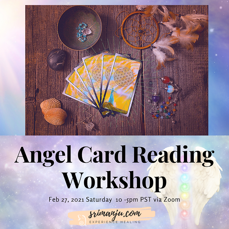 Angel Card Reading Workshop - Online