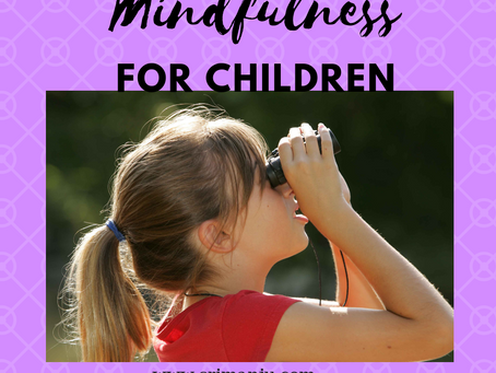 Series 2:  How kids naturally and effortlessly teach us mindfulness