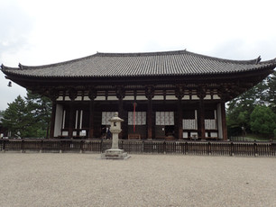 Nara, where the temples are BIG and the deer roam free