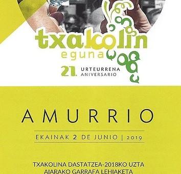 Txakolin eguna 2019