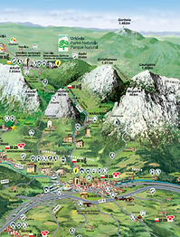 Mapa Turismo Durango