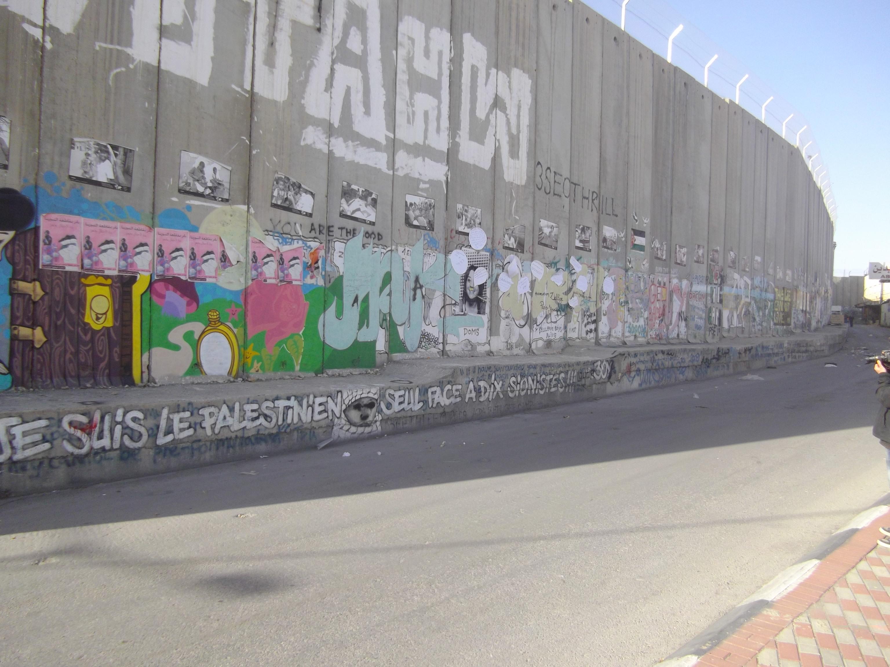Mur de la Honte, Palestine