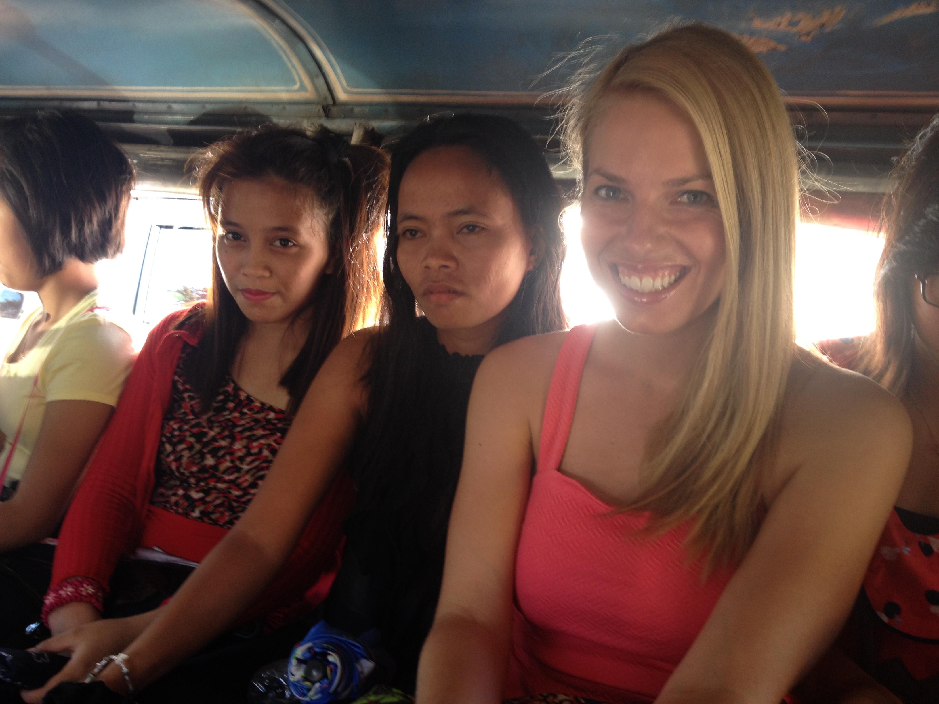 Dans le bus, Philippines