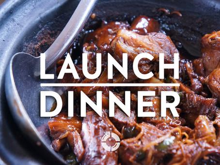 Launch dinner 2020