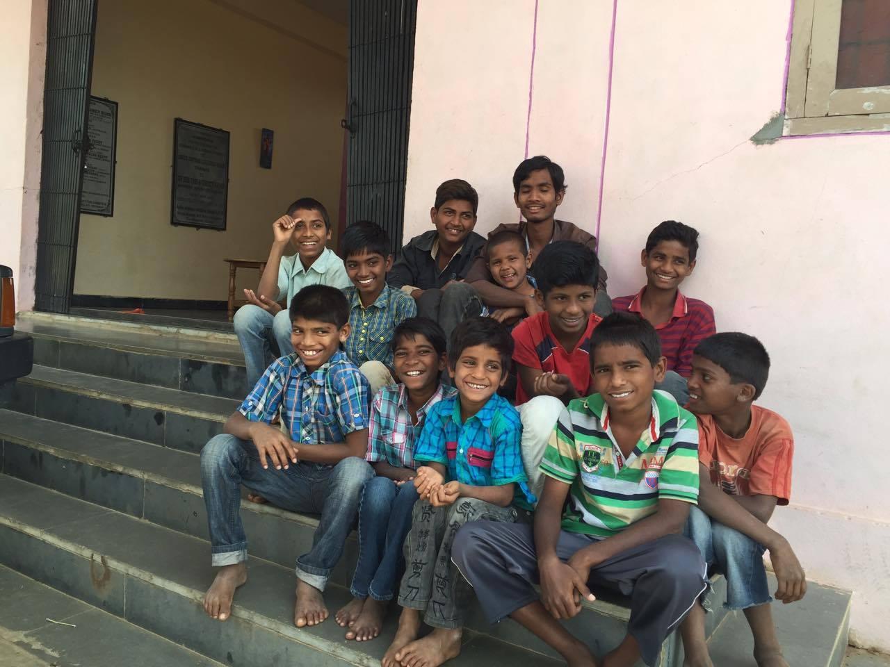 Enfants orphelins d'Inde