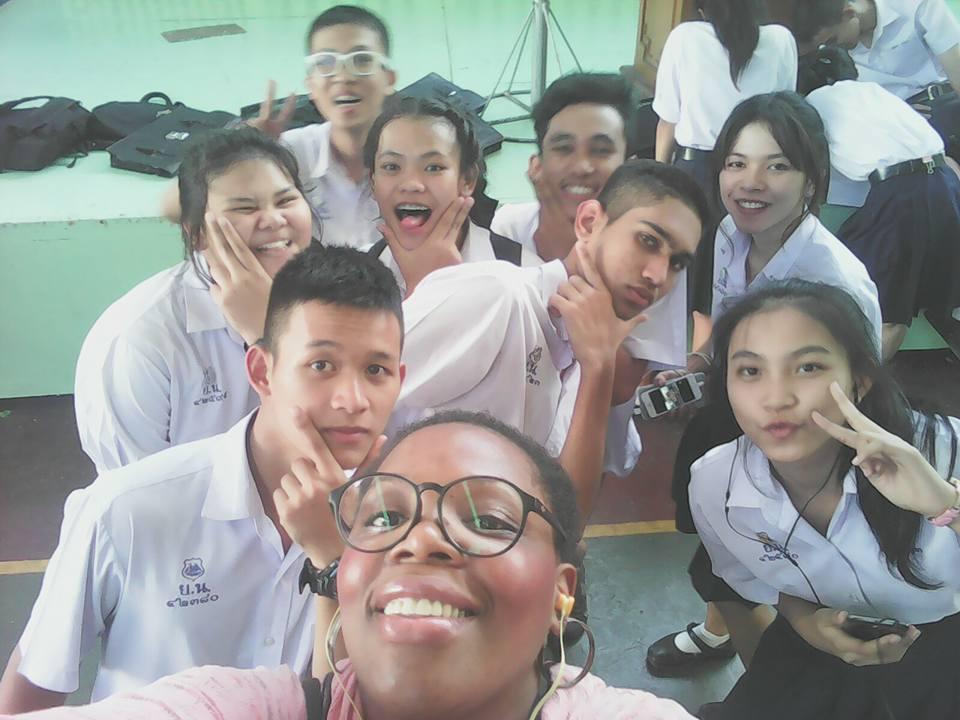 Des lycéens de Bangkok, Thaïlande