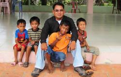 Orphelinat au Cambodge