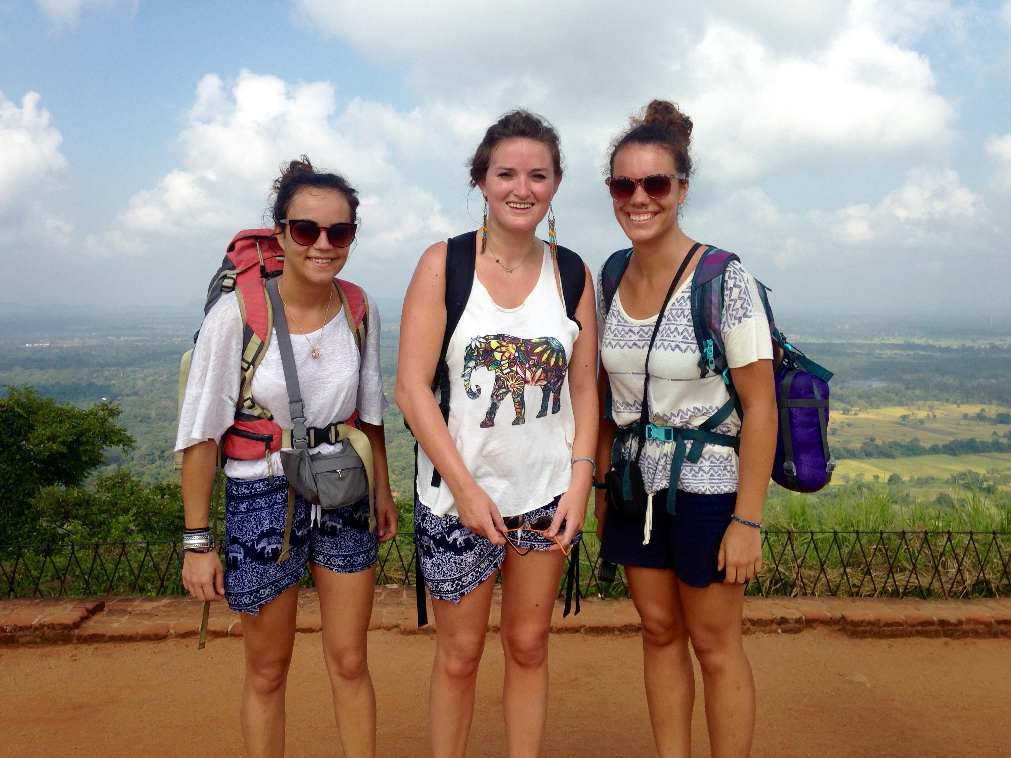 Etudiantes infirmières au Sri Lanka