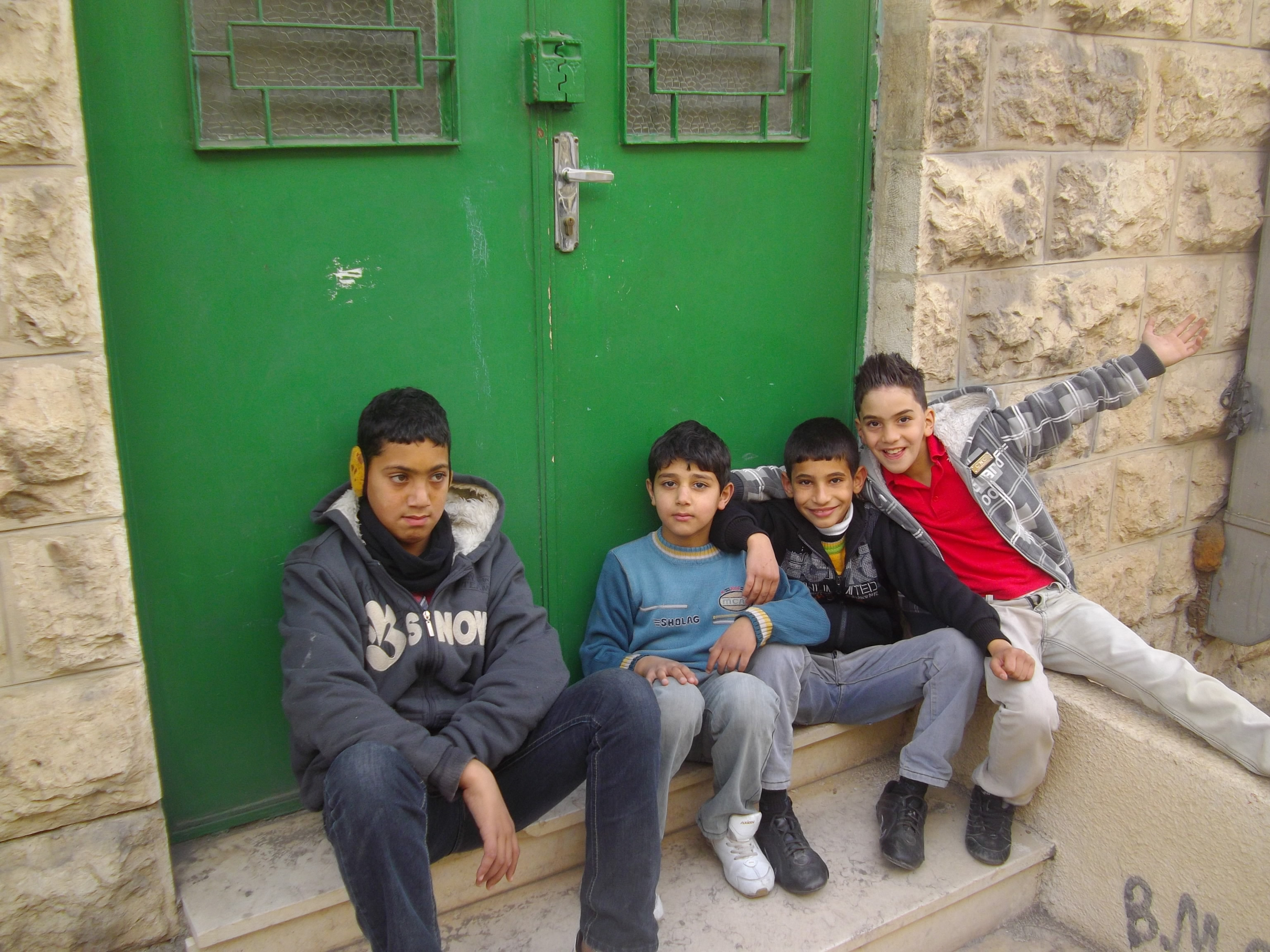 Enfants, Palestine