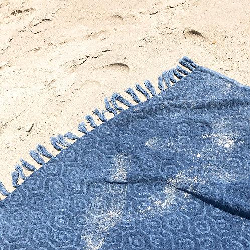 Indigo Throw Blanket