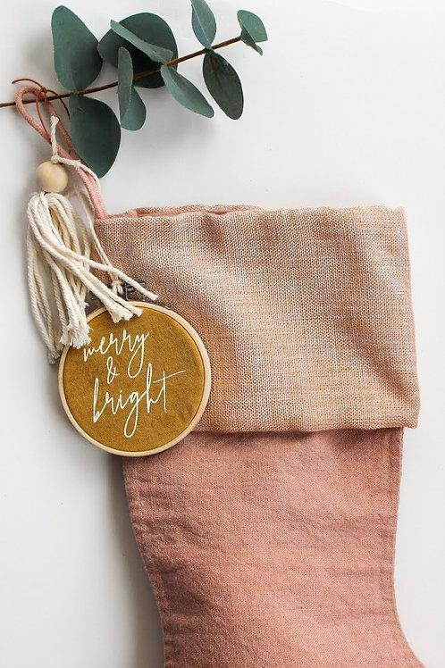 Merry & Bright Ornament