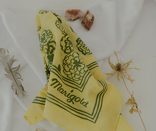 The Marigold Bandana