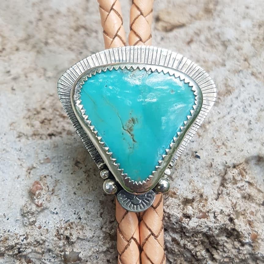 Nevada Turquoise Bolo