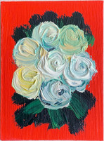 Fauve Bouquet in Red