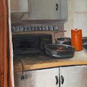 Kitchen II (Orange Tupperware)
